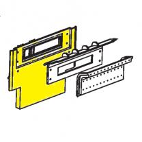 AGA Ludlow C2119 Back Plate (in yellow)