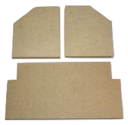 Clearview 650 Firebrick Set