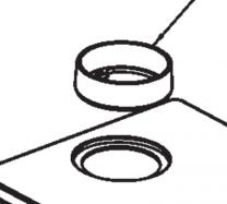 AGA Ludlow Flue Collar