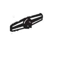 AGA Ludlow Blanking Plate Retainer Bar