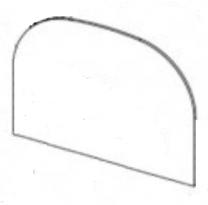 Replacement Door Glass - Stovax Huntingdon 35