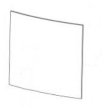 Replacement Door Glass - Yeoman Exmoor