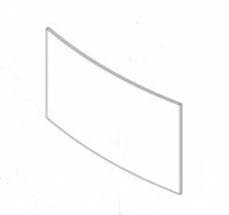 Replacement Door Glass (Single Door) - Yeoman County