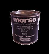 Morso Dark Grey Brush on paint