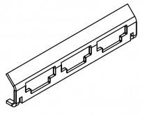 Charnwood C-Four BLU Rear Grate Support