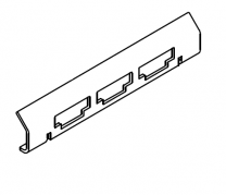Charnwood C-Eight BLU Rear Grate Support