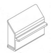 Side Grate Support - Stockton 8 Mk1 Pre CE Coal Kit