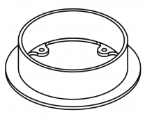 Flue Collar 5 Inch - Yeoman CL3 & CL5 (FCL/BYM)