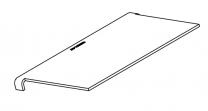 Charnwood C-Six BLU Upper Baffle Plate