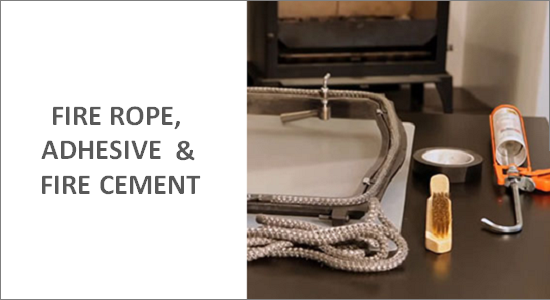 Fire Rope, Fire Adhesive & Fire Cement