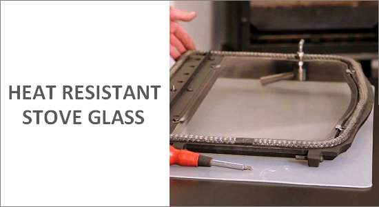 Heat Resistant Stove Glass Spares