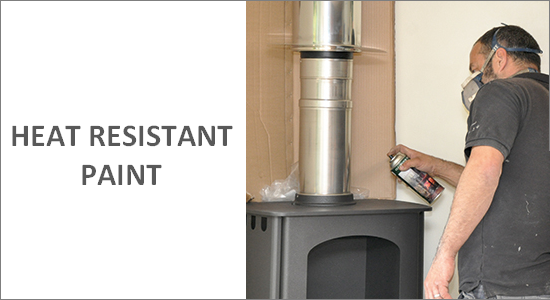 Heat Resistant Stove Paint & Spray Paint