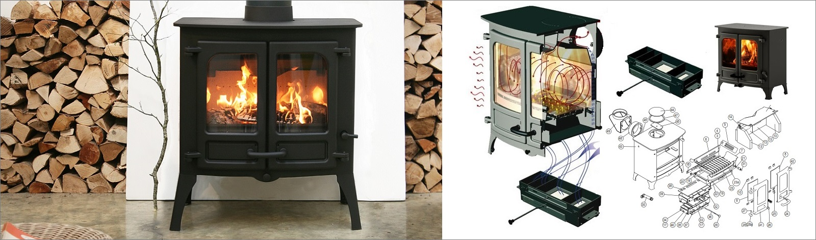Woodburner Spares - UK Suppliers